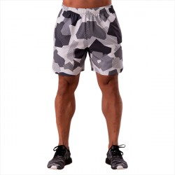 ICANIWILL Training Shorts Camo White