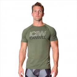 ICANIWILL Tri-Blend T-shirt Army