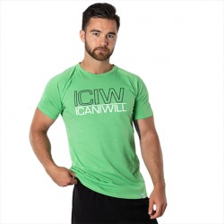 ICANIWILL Tri-Blend T-shirt Poison Green