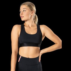 ICANIWILL X Sports Bra Black