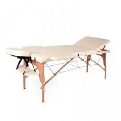 inSPORTline Massagebänk Japane, creamy yellow, inSPORTline