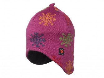 Isbjörn of Sweden Snowflake Knitted - Hue - Pink Str. 44-46 cm.
