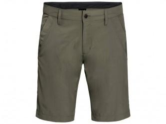 Jack Wolfskin Desert Valley Shorts - Hr. Str. 48 - Woodland Green