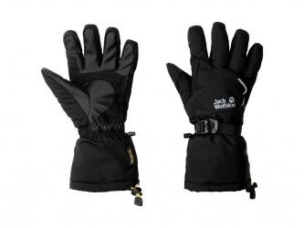 Jack Wolfskin Texapore Big White - Vinter handske - Str. L - Sort