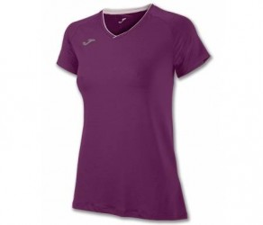 Joma - Løbe t-shirt S/S - Dame - Burgundy