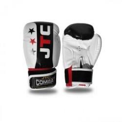 JTC COMBAT Boxhandske Junior, vit/svart, JTC Combat