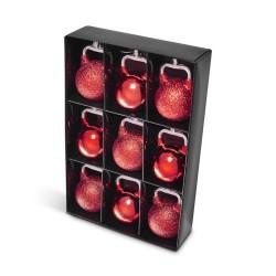Kettlebells Julekugler Røde