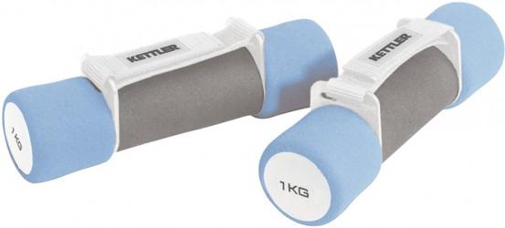 Kettler Aerobic Soft Grip Håndvægte (2 x 1kg)