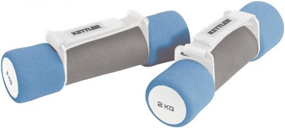 Kettler Aerobic Soft Grip Håndvægte (2 x 2kg)