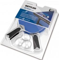 Kettler Play Outdoor Udendørs Bat Sæt (Inkl. 3 bolde)
