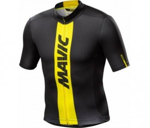 Mavic Cosmic Jersey - Cykeltrøje - Sort/gul
