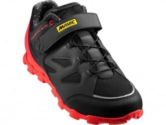Mavic Echappée Trail Elite - Dame MTB sko - Sort/rød - Str. 7.5