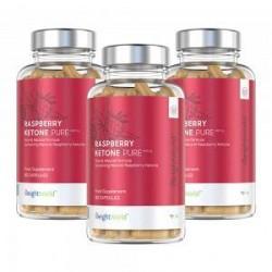 MaxMedix - Hindbær Kosttilskud - Undgå Fedtstoffer - 90 Tabletter - WeightWorld