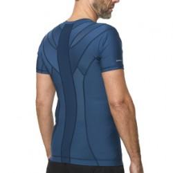 Men's Posture Shirt 2.0 (blå) Large