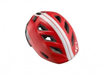 Met Genio - Cykelhjelm - Rød 85 - Str. 52-57 cm
