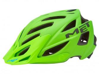 Met Terra - Cykelhjelm - Mat grøn/sort - Str. 54-61 cm