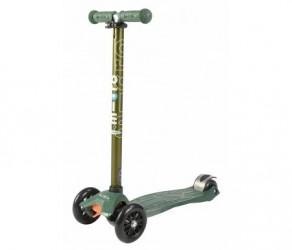 Micro Maxi Classic - Løbehjul med fire hjul - Grøn metal