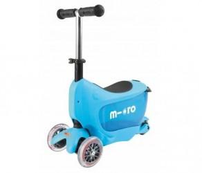 Micro Mini2Go - Løbehjul/Scooter - Blå