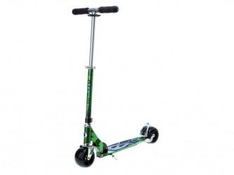 Micro Rocket - Løbehjul til voksne - Aluminium - Grøn