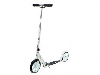 Micro White - Løbehjul til voksne - 200mm hjul - Aluminium - Hvid