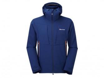 Montane Dyno Stretch Jacket - Softshell Mand - Navy - Medium