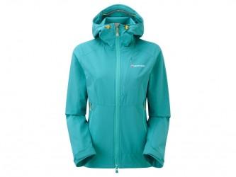 Montane Womens Dyno Stretch Jacket - Softshell Dame - Blå - 36