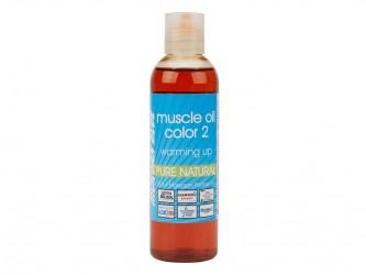 Morgan Blue Muscle oil 2 - 200 ml. - Varmeolie med farve vinter