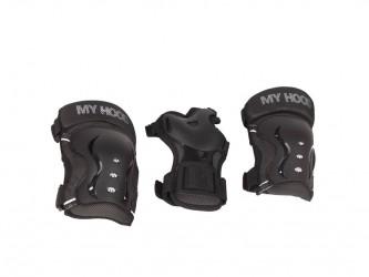 My Hood beskyttelsessæt - Str. L - Til skater, rulleskøjter og løbehjul