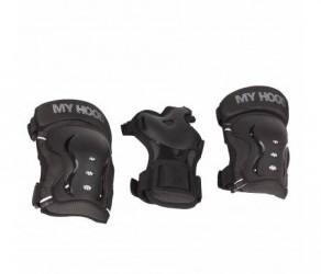 My Hood beskyttelsessæt - Til skater, rulleskøjter og løbehjul