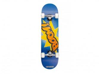 My Hood Boom - skateboard - ABEC 9 Blå/Orange