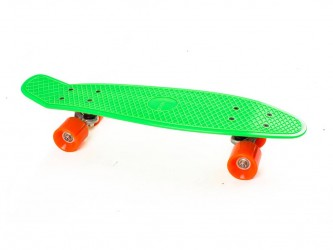 My Hood Skateboard My Hood Cruiser - Lime/Orange