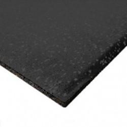 Neoflex Premium Gym Tile, 15mm, 1x1m, Black/Black, 1 x 1 m, Black/Black