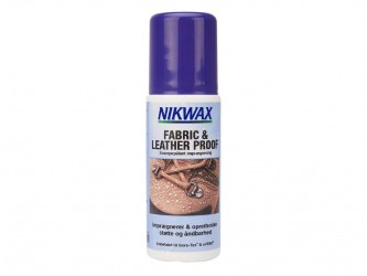 Nikwax Fabric & Leather - Imprægnering til fodtøj tekstil og skind - 125 ml
