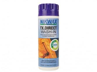 Nikwax TX-Direct Wash-in - Imprænerings vask til vandtæt beklædning - 300 ml