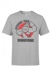 Nintendo T-shirt - Strong Like Grey