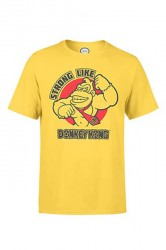 Nintendo T-shirt - Strong Like yellow
