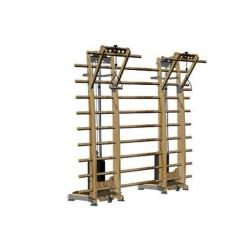 NOHrD DoubleWorkx træningsstation, ask