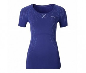 Odlo Evolution Light Blackcomb - Basis t-shirt - Dame - Blå