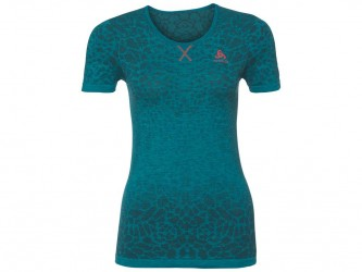 Odlo - Evolution light Blackcomb - Løbe t-shirt - Dame - Grøn