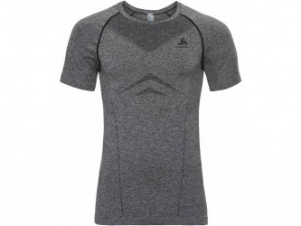 Odlo - Performance light Suw Top - Sved t-shirt - Herre - Sort/grå
