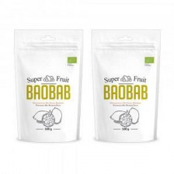 Økologisk Super Baobab-pulver - C-Vitamin-pulver - 2 stk., spar 10%