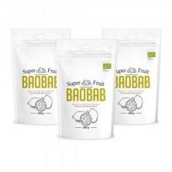 Økologisk Super Baobab-pulver - C-Vitamin-pulver - 3 stk., spar 20%