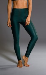 Onzie High Rise Legging Green Venom