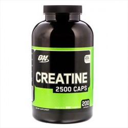 Optimum Nutrition Creatine 200 Kapsler