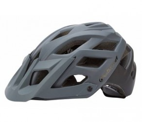 Polisport E3 - Cykelhjelm - Grå/sort