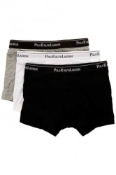 Polo Ralph Lauren Trunks 3-Pack Black/Grey/White