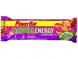 Powerbar Natural Energy - Tranebær og nødder 40 gram