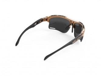 Pro-Ject Rudy Project Keyblade - Løbe- og cykelbrille - Smoke Linser - Bronze