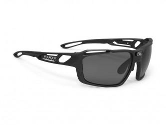 Pro-Ject Rudy Project Sintryx - Løbe- og cykelbrille - Smoke linser - Mat Sort