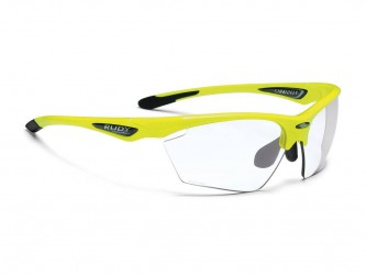 Pro-Ject Rudy Project Stratofly - Løbe- og cykelbrille - Photoclear linser - Fluo Gul